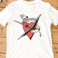 T-shirt Swallow The Tattoo Garden